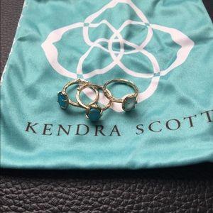 Kendra Scott stacking rings